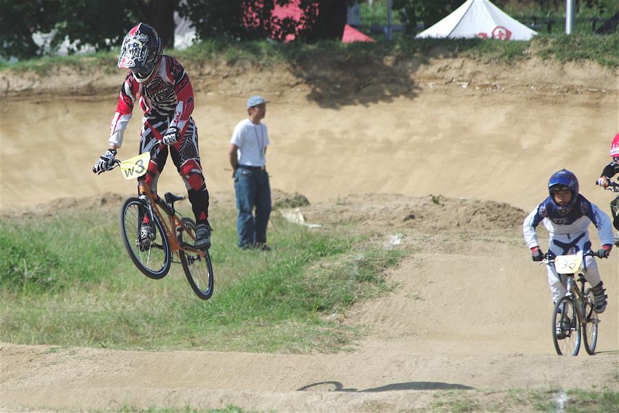 2008JBMXF西日本BMX選手権大会IN大阪VOL 5:年齢別クラス予選その2_b0065730_6551625.jpg