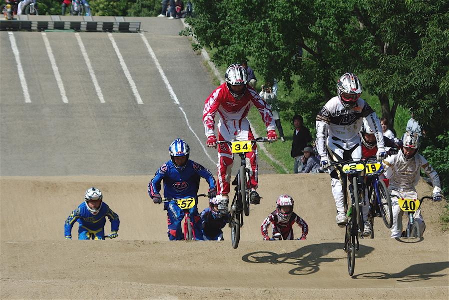 2008JBMXF西日本BMX選手権大会IN大阪VOL 5:年齢別クラス予選その2_b0065730_6555078.jpg