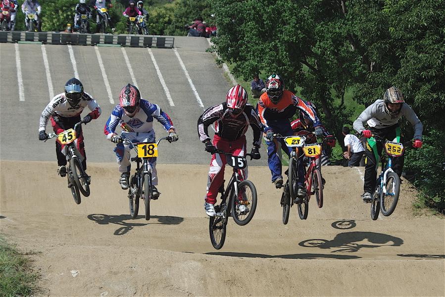 2008JBMXF西日本BMX選手権大会IN大阪VOL 5:年齢別クラス予選その2_b0065730_656225.jpg