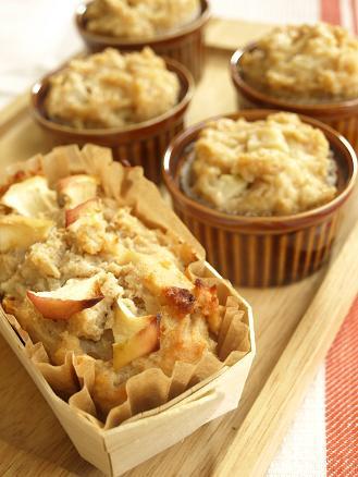 ~米粉と豆腐とみそを使って~りんごケーキ&蒸しパン_d0128268_17424970.jpg