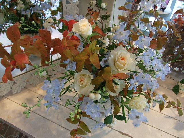 オークリーフ花の教室(佐竹さんの作品)_f0049672_15351427.jpg