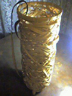 篠笛の竹籠/ My design_d0090888_23292948.jpg