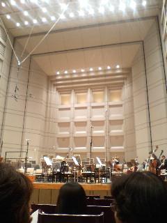 『東京フィルハーモニー交響楽団 定期演奏会』_b0053900_16275736.jpg