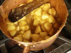リンゴパイの準備_d0066821_17485869.jpg