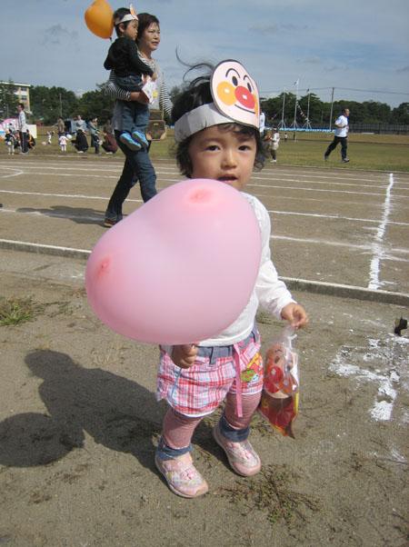 苺梨杏の運動会!_f0150893_16253734.jpg