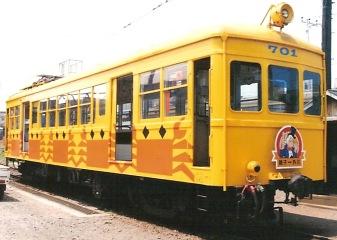 銚子電気鉄道 デハ701 の、とある時代_e0030537_0583827.jpg