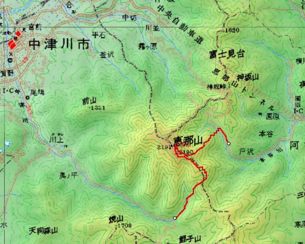 恵那山(2.191m 岐阜県) 参加13名_d0007657_17325995.jpg