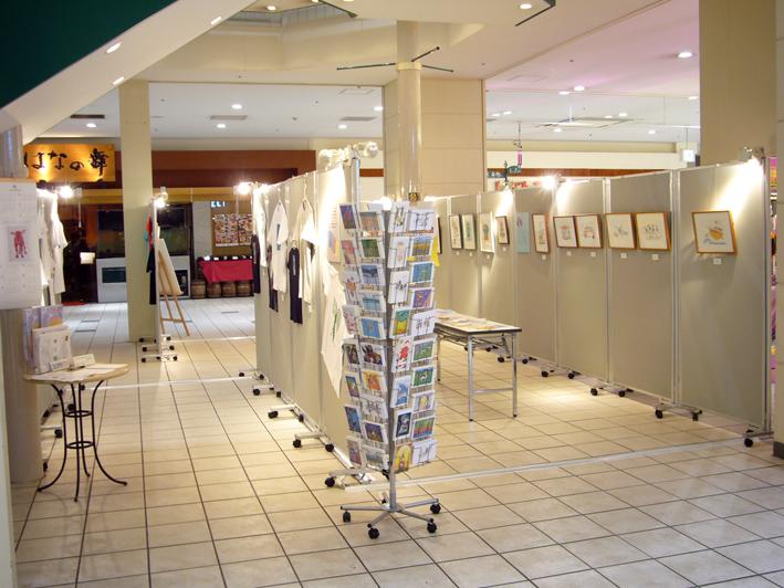 アートビリティ作家展 in カルフール幕張_c0035838_953566.jpg