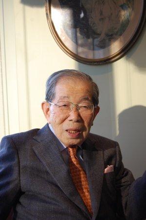 インタビュー 96歳 日野原重明先生_f0088456_13364688.jpg