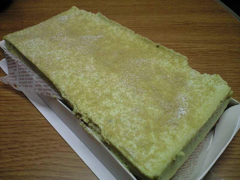 【京都】Beau,bel,belle!(ボウ・ベル・ベル) 抹茶のとろけるチーズケーキ_d0068879_18231265.jpg