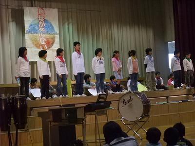 浦佐小学校「学習発表会」_b0092684_5573955.jpg