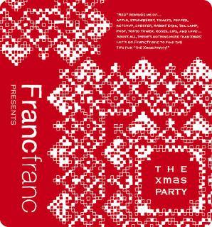 "Francfranc presents ""THE Xmas PARTY"" 発売!!_f0142044_1852076.jpg"