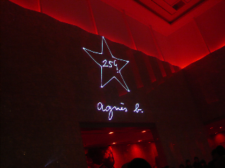 agnes b.25ans show&party @国際展示場_f0164187_11452238.jpg