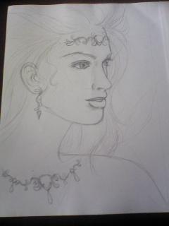 Drawing process - 絵のプロセス -_f0186787_19165810.jpg