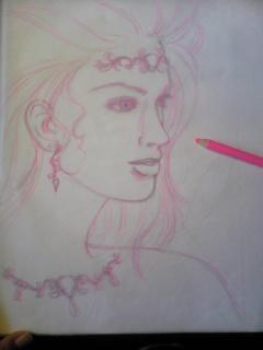 Drawing process - 絵のプロセス -_f0186787_19172429.jpg