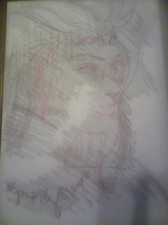 Drawing process - 絵のプロセス -_f0186787_12235340.jpg