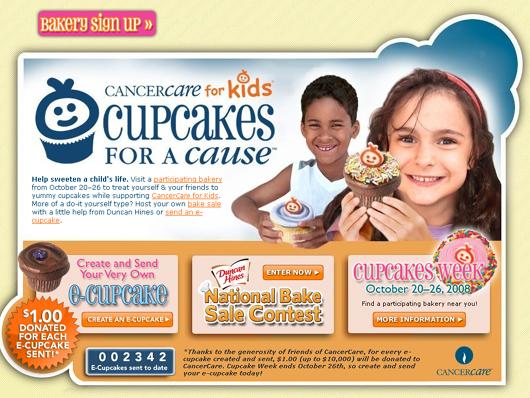 カップケーキで募金活動 Buttercup Bake Shop_b0007805_15434826.jpg