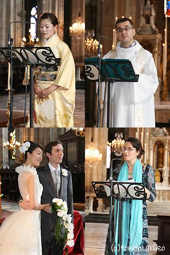ビッグな教会でビッグなドキドキ結婚式…_c0024345_196255.jpg