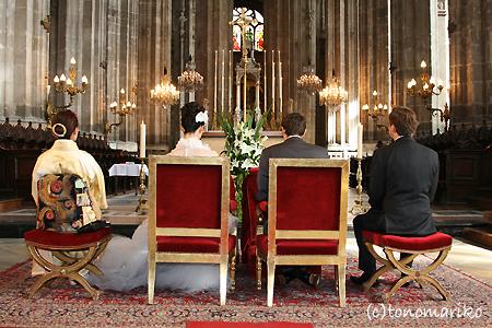 ビッグな教会でビッグなドキドキ結婚式…_c0024345_1993358.jpg