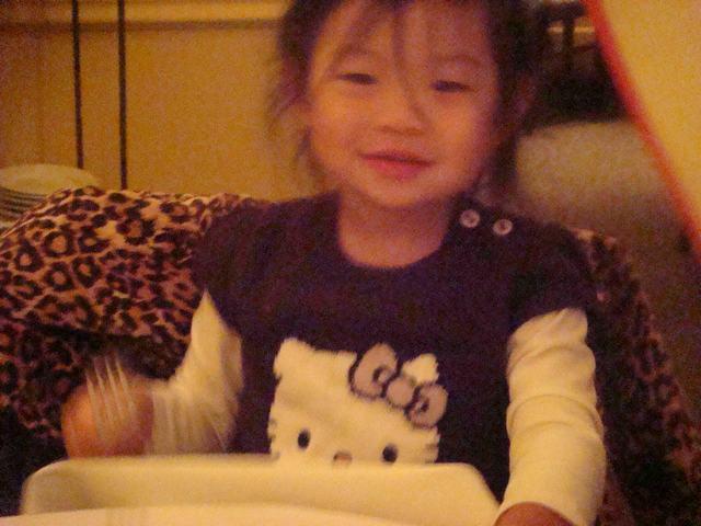 可愛い子たちとの夕食、_d0100880_9151473.jpg