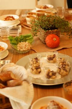 10月もありがとうございました -Dish Class-_b0065587_20584090.jpg