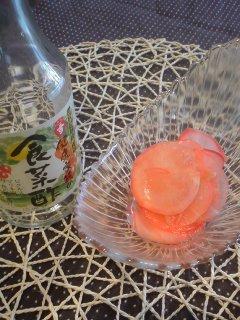 福島の地産地消と・・・レディサラダのドレッ酢ング漬け。_f0177295_14275325.jpg