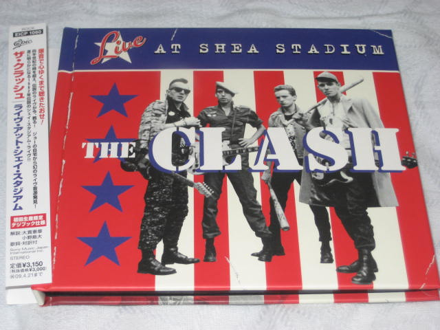 THE CLASH / LIVE AT THE SHEA STADIUM_b0042308_16203681.jpg