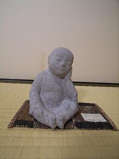 石彫 : 江本幸二   (旧近衛邸の展覧会)_f0059988_1431624.jpg