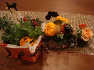 2008.10.28   我が家のハロウィーン_a0083571_16491757.jpg