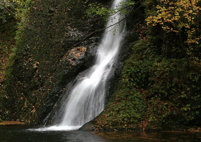 紅葉と落葉の「峨瓏ノ滝」_f0150893_2014115.jpg