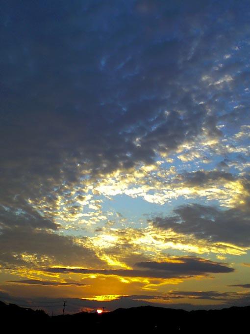 日没直前携帯カメラ4本勝負_c0150383_18402599.jpg