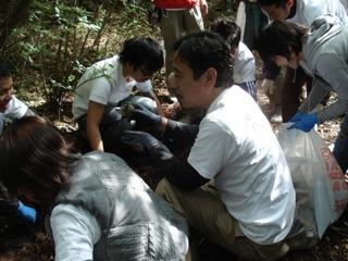 富士山ゴミ拾い大会に参加/文・ルー大柴_a0083222_12315529.jpg
