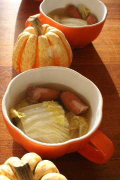 白菜のジンジャーポトフ_f0141419_57597.jpg