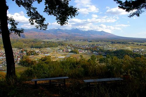 朝倉山城跡から望む八ヶ岳_d0102327_11493256.jpg