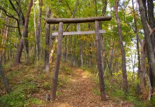 朝倉山城跡から望む八ヶ岳_d0102327_12313044.jpg
