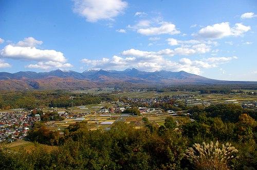 朝倉山城跡から望む八ヶ岳_d0102327_16125850.jpg