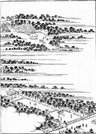 『尾張名所図会』に見る蕃塀(21)虫鹿神社_e0113570_0375785.jpg