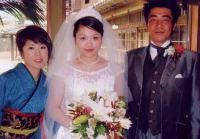 2004・4・17 田中(坪川)泰子 結婚式_e0148776_1123527.jpg