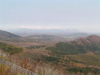 狩勝峠から然別湖_f0078286_17372337.jpg