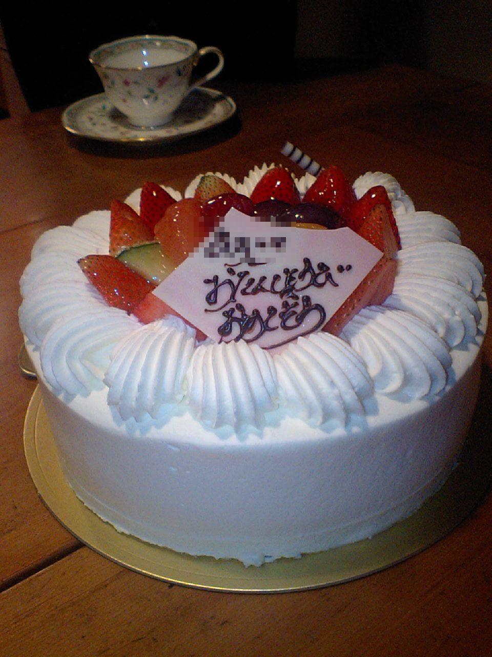 猫とケーキ それから天ぷら_f0128542_23531862.jpg