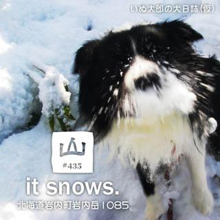 #435 it snows. Revised edition._b0052312_1983212.jpg