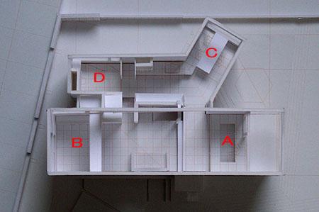白井T邸 08案模型 すべてがnになる平面_d0017039_1748153.jpg