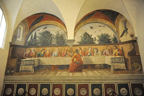 オンニッサンティ修道院食堂_b0142265_12163730.jpg