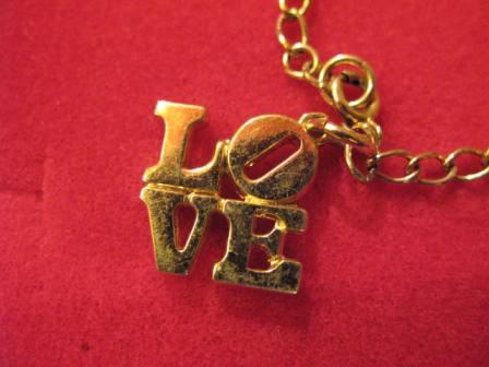 70\'S LOVE ブレスレット!デッドストック!_c0144020_12511467.jpg