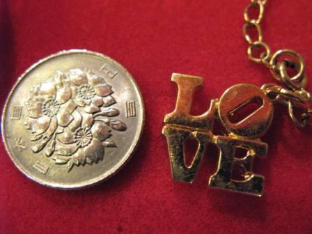 70\'S LOVE ブレスレット!デッドストック!_c0144020_12512530.jpg