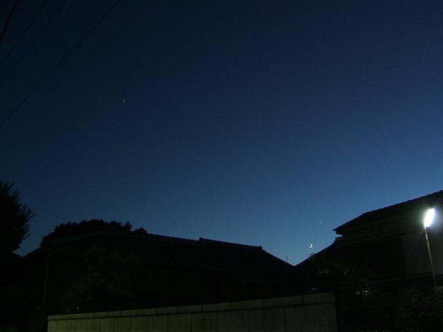 月と金星と木星_e0089232_235015.jpg