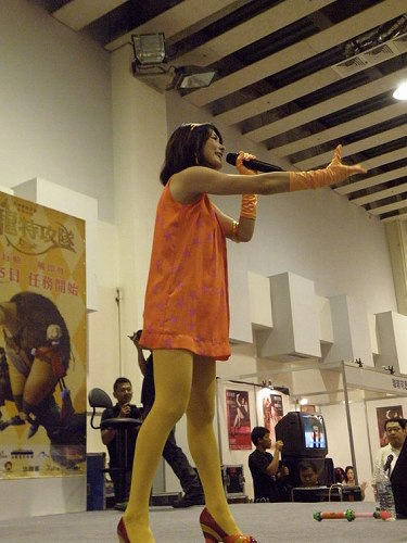 村田あゆみが、台湾のコミックイベントでトーク&ミニライブを開催した!_e0025035_10415378.jpg