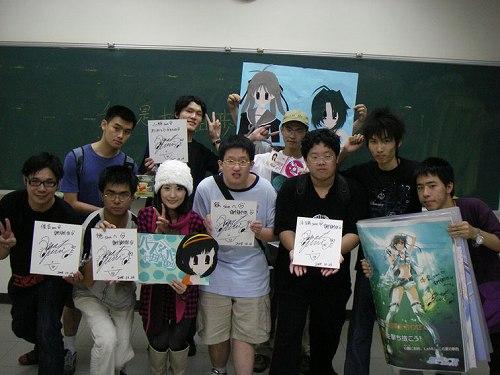 村田あゆみが、台湾のコミックイベントでトーク&ミニライブを開催した!_e0025035_10431573.jpg