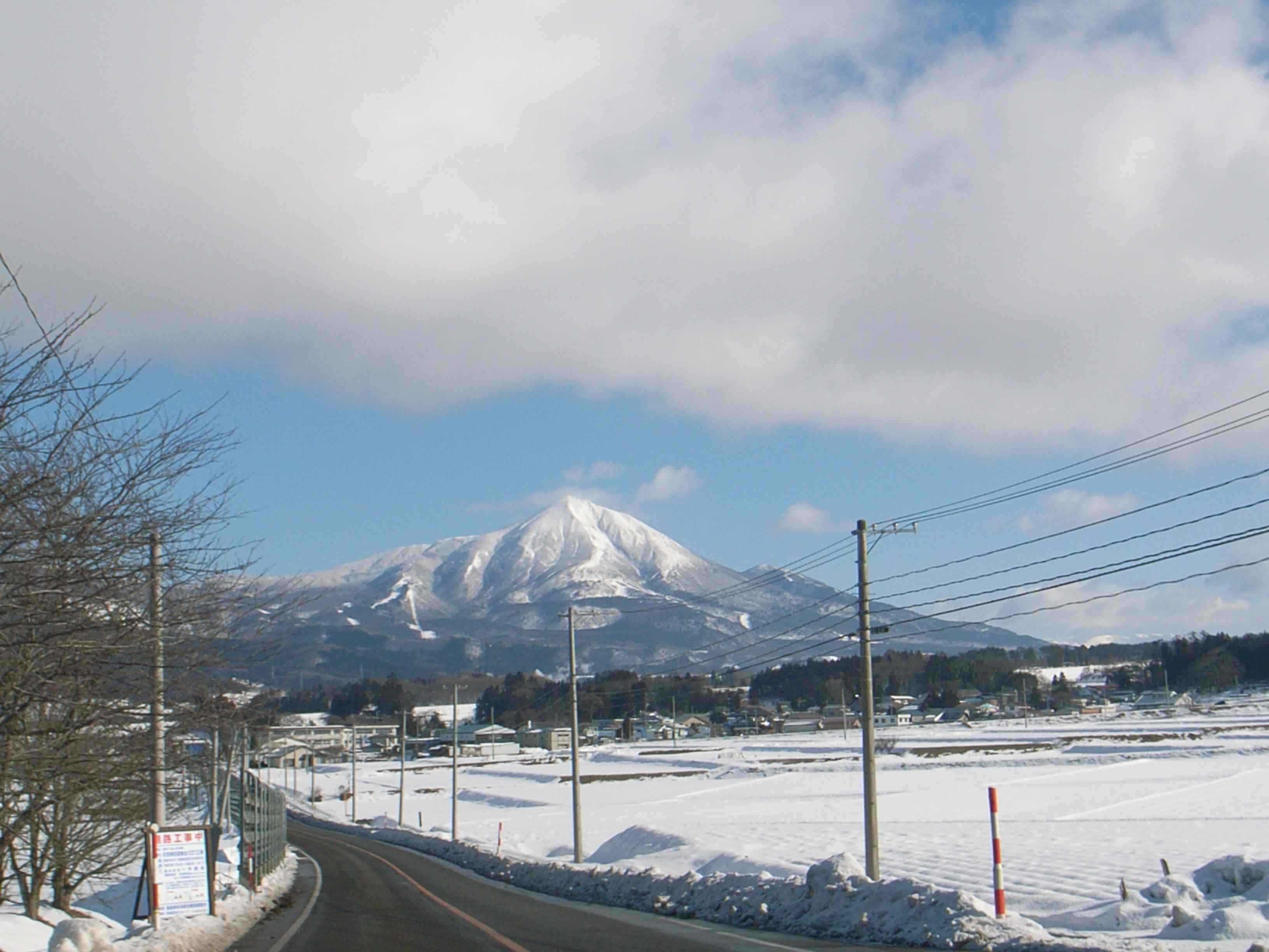 写真を撮りに行く途中で・・・磐梯山。_c0141989_15294722.jpg