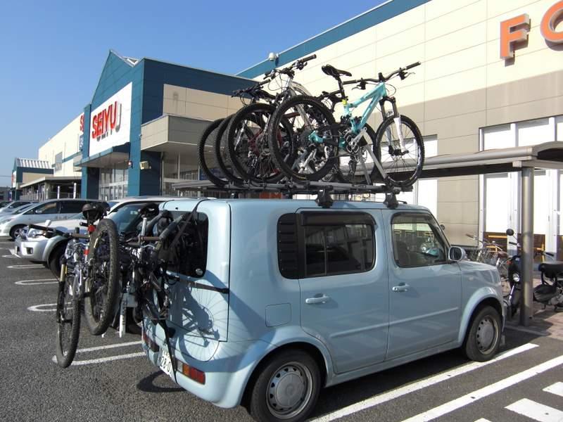 自転車の 自転車 キャリア 背面 : やまみちをはしる(あくまで ...
